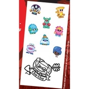 Moshi Monsters Tattoo Case of 24