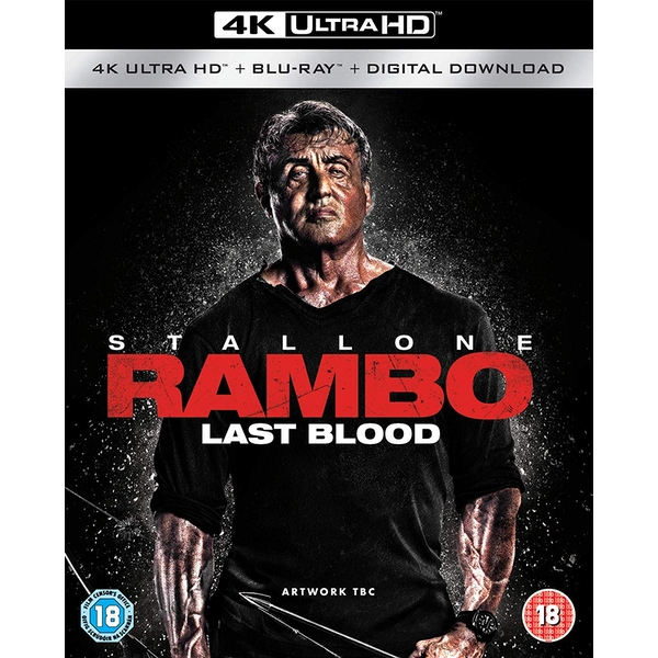 Rambo: Last Blood 4KUHD + Blu-ray