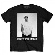 Eminem - Whatever Men's Small T-Shirt - Black