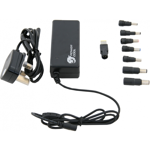 Powercool 90W Universal AC Adaptor (8 TIPS) UK Plug