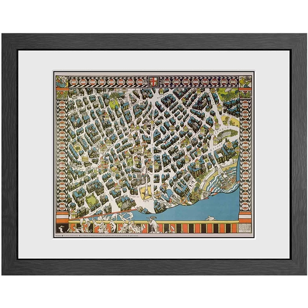 Transport For London Stylised Map Print