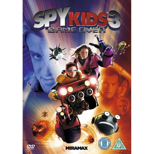 Spy Kids 3 DVD