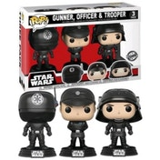 Ex-Display Death Star Gunner, Officer & Trooper 3 Pack (Star Wars) Funko Pop! Vinyl Figure Used - Like New