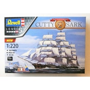 Cutty Sark 150th Anniversary 1:220 Scale Revell Model Kit