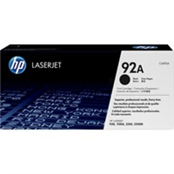 HP C4092A (92A) Toner black, 2.5K pages - Image 1