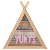 Save Until It Yurts Teepee Money Box