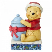 Holiday Hunny (Winnie the Pooh) Disney Traditions Figurine