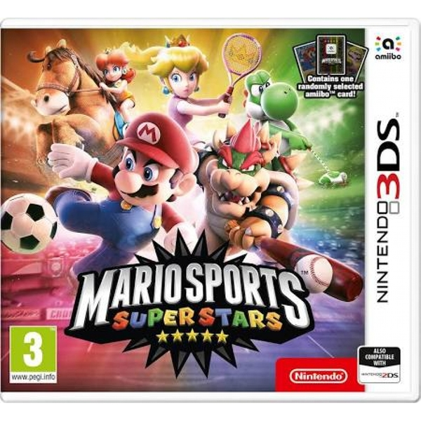 Mario Sports Superstars and Amiibo Card 3DS Game