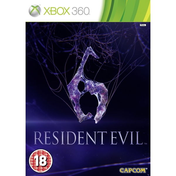 Resident Evil 6 Game Xbox 360 [Used]