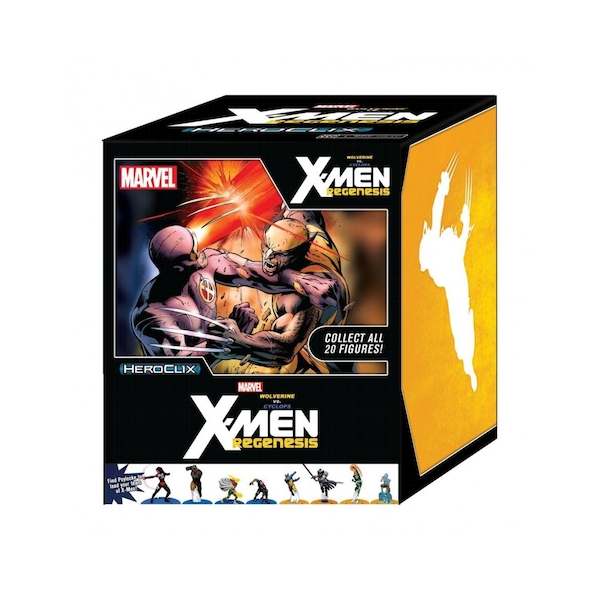 Marvel HeroClix: Wolverine vs. Cyclops: X-Men Regenesis Storyline Display (24 packs)