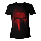 Star Wars VII The Force Awakens Adult Male Distressed Red Kylo Ren Large T-Shirt
