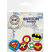 DC Comics Logos Badge Pack - Image 2