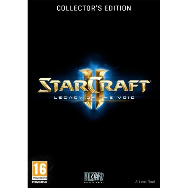 Starcraft 2 Legacy Of The Void Collector's Edition Game PC & MAC