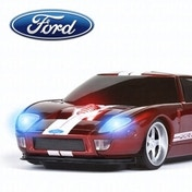 Ford GT Wireless Mouse - Red/White