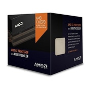 FX-8370 CPU with Wraith Cooler, AM3 , 4.0GHz, 8-Core, 125W, 8MB Cache, 32nm, Black Edition