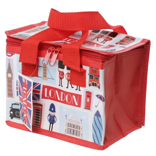 London Icons Design Lunch Box Cool Bag