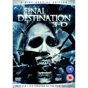 The Final Destination Death Trip 3D Special Edition DVD