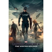 Captain America Winter Soldier One Sheet D Maxi Poster