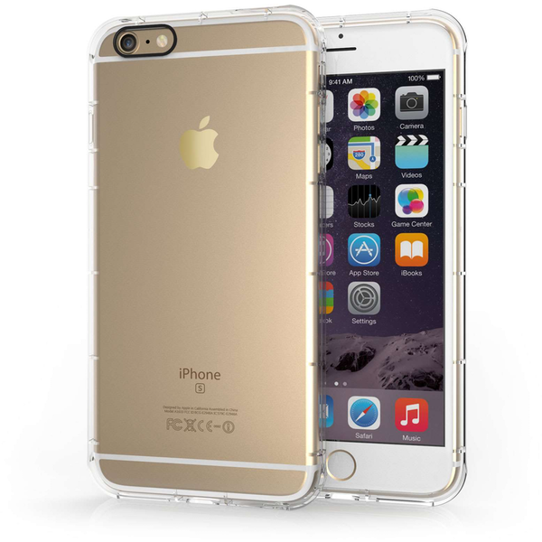 Compare prices with Phone Retailers Comaprison to buy a Apple iPhone 6/6S Plus Clear Gel Case with Black Camera Hole