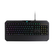 Asus TUF GAMING K5 Mech-Brane Gaming Keyboard, Extended Durability, Spill-Resistance, Programmable Keys, RGB Lighting