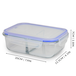 Set of 4 Glass Meal Prep Containers| M&W 2 Compartment - Image 8
