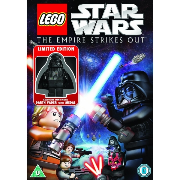 LEGO Star Wars: The Empire Strikes Out Ltd Ed with Mini Figurine DVD [Used]