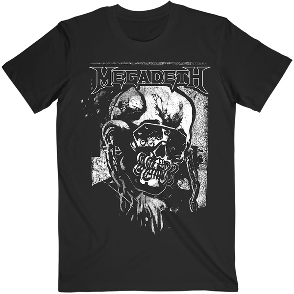Megadeth - Hi-Con Vic Unisex Small T-Shirt - Black