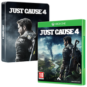 Just Cause 4 Xbox + Steelbook One Game