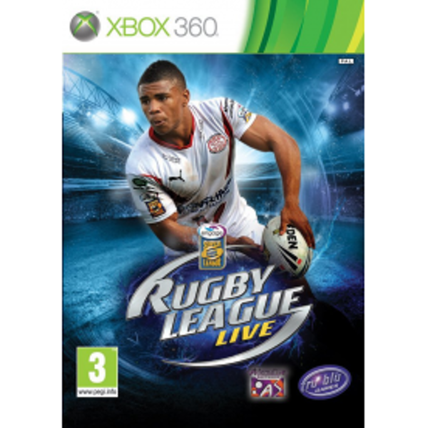 Rugby League Live Game Xbox 360