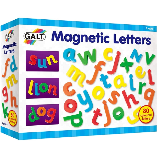 Magnetic Letters Play & Learn Toy
