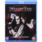 Sweeney Todd The Demon Barber of Fleet Street Blu-Ray