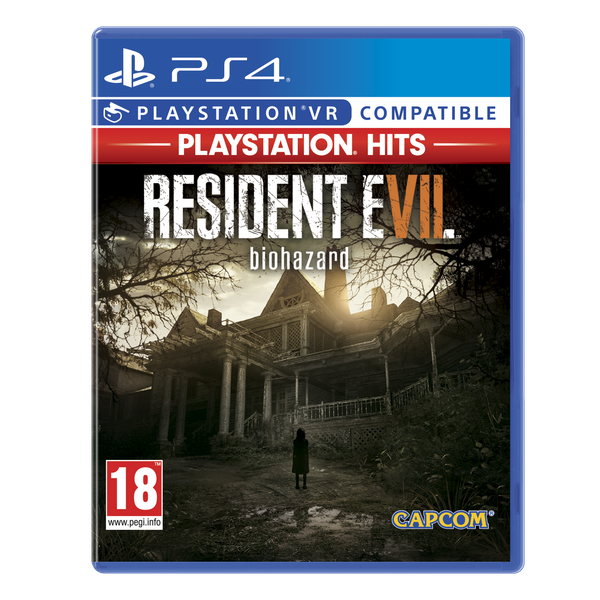 Resident Evil 7 Biohazard PS4 Game (PSVR Compatible) (PlayStation Hits)