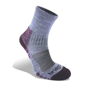 Bridgedale Woolfusion Trail Light Women's Sock Heather and Damson Medium