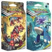 Pokemon TCG: Sun & Moon 12 Cosmic Eclipse Groudon/Kyogre Theme Deck - 1 at Random