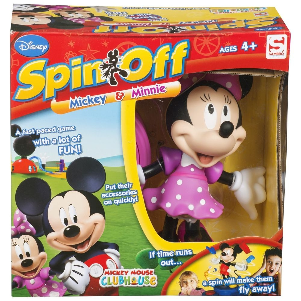 Minnie Mouse Clubhouse Spin-Off Game