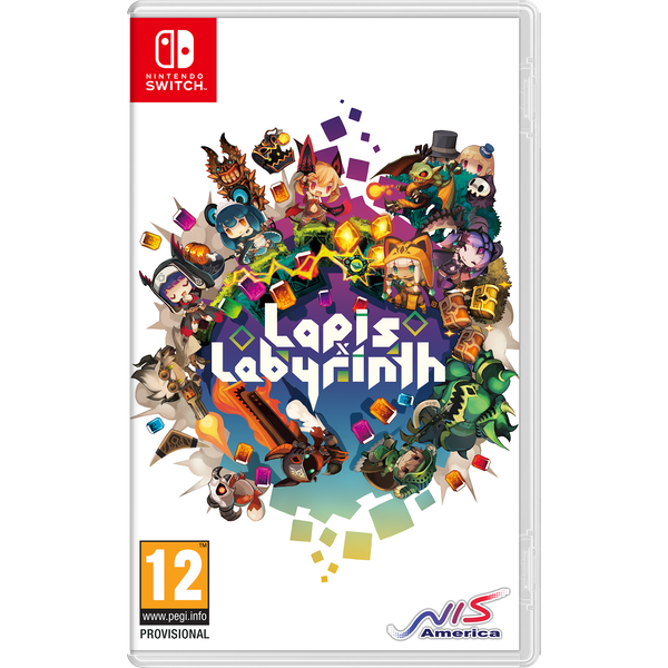 Lapis x Labyrinth X Limited Edition XL Nintendo Switch Game