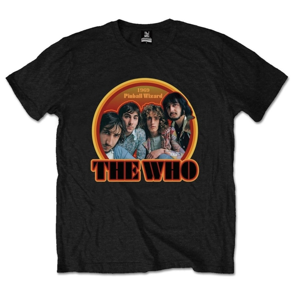 The Who - 1969 Pinball Wizard Unisex Medium T-Shirt - Black