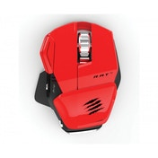 Mad Catz Game Smart R.A.T M Wireless Gaming Mouse (Red)