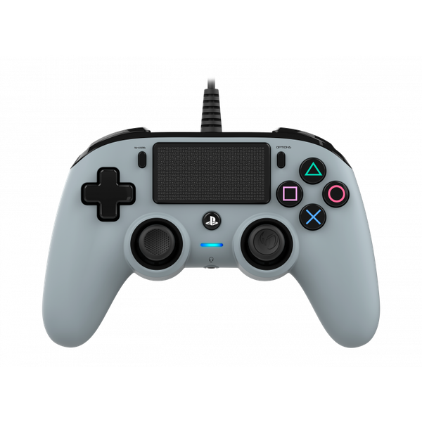 Image of Nacon Compact Wired Controller (Grey) PS4
