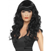 Siren Long Wig Purple & Black One Size Black