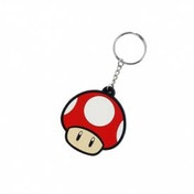 Nintendo Power Up Mushroom Rubber Key Chain