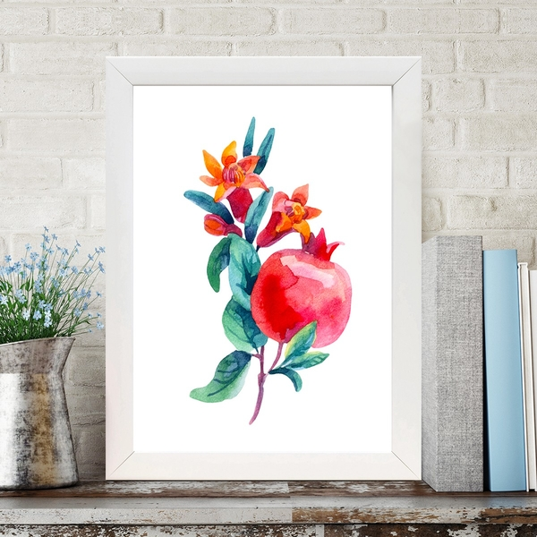 BC4173931452 Multicolor Decorative Framed MDF Painting