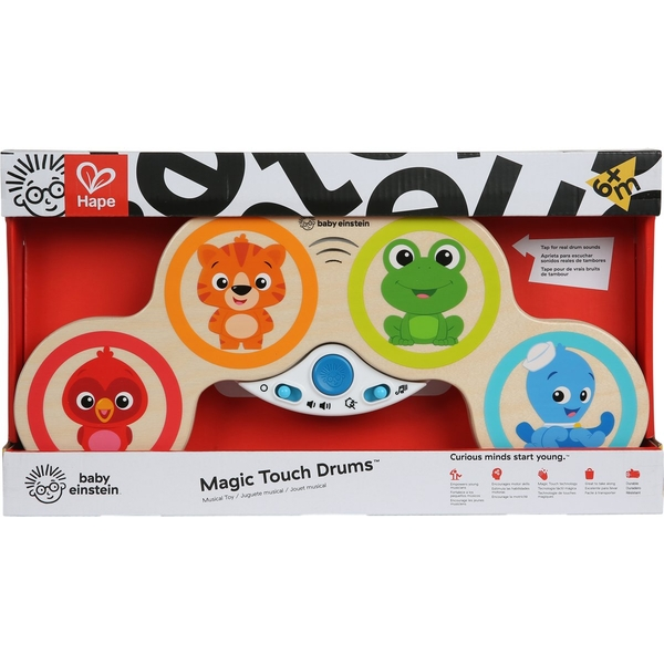 Baby Einstein Magic Touch Drums Musical Toy [Damaged Packaging]