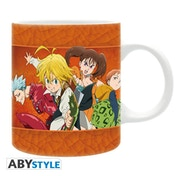 The Seven Deadly Sins - Sins Mug