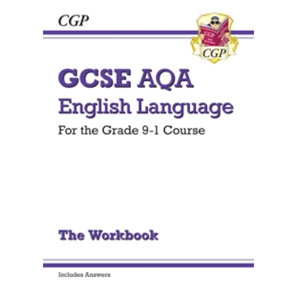 New GCSE English Language AQA Workbook - For the Grade 9-1 Course (Includes Answers) by CGP Books (Paperback, 2015)