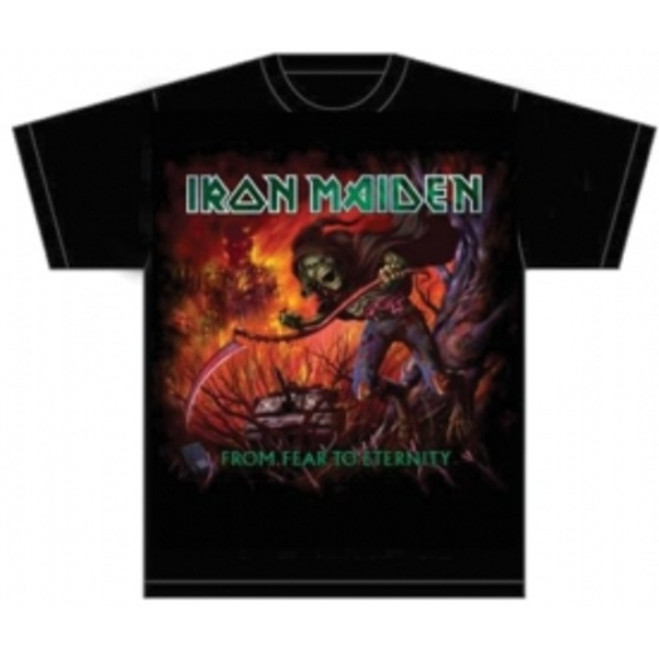 Iron Maiden From Fear to Eternity Album Mens T Shirt: Lar