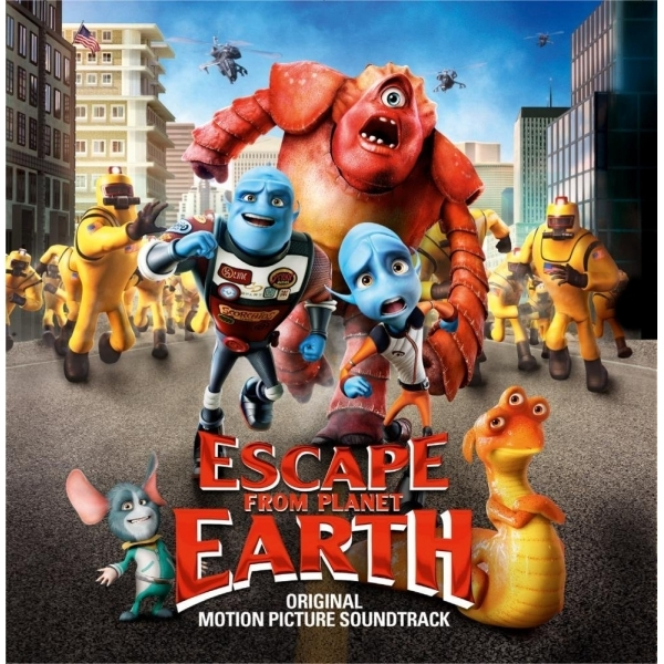 Escape From Planet Earth Soundtrack CD