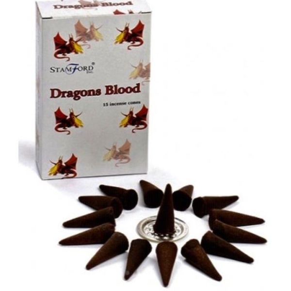 Dragons Blood Incense Cones From Stamford