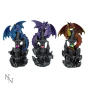 Protectors of the Keep (Pack Of 3) Dragon Figures