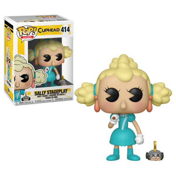 Sally Stageplay (Cuphead) Funko Pop! Vinyl Figure #414 [Damaged Packaging]